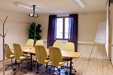 Meeting room for a small group, max, 8 persons.